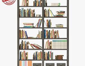 3D model Bookshelves