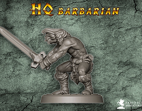 3D printable model Classic Barbarian