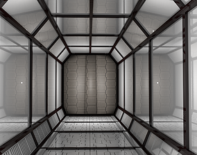 shuttle 3D model Sci Fi Corridor
