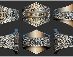 3D printable model Harley Davidson Ring ultra