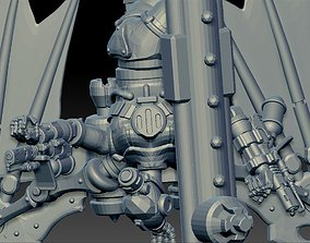 Cyborg bat toaster lovers 3D printable model