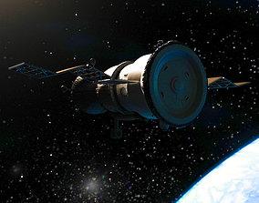 3D spaceship progress