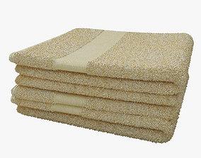 3D folded towels2