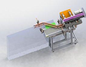manufacture Vertical change horizontal labeling machine 3D