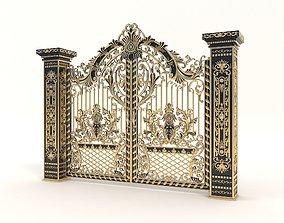 Classic Mansion Gate 2 3D model