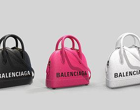 Balenciaga Ville Top Handle XXS Bag Leather 3D model