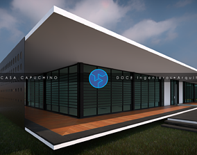 3D model Capuchino House - Autodesk Revit