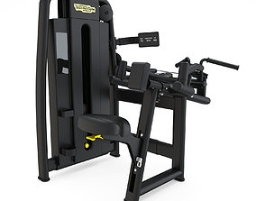 Technogym - Selectorised - Upper Back 3D model