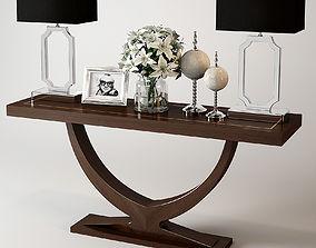 3D Eichholtz Console Table Ungaro room