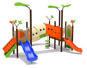 Kids Playground 3D asset