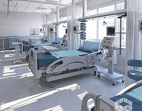 3D Medical Patient Room 5