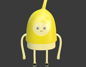 Banana Man from Adventure Time 3D printable model