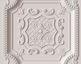 panel Decorative Ceiling Tile 3D