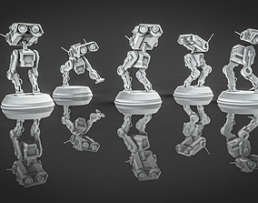 BD-1 Robot 3D Print Model