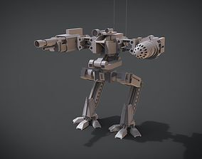 3D printable model 2 Side Mecha
