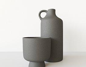 Bowl Vase 3D model
