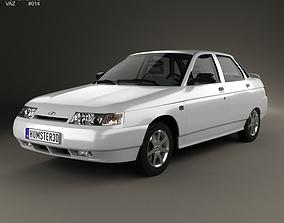 3D model VAZ Lada 2110 sedan 1995