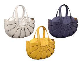 Bottega Veneta Shell Tote Bag 3 colors 3D model