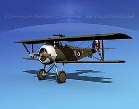 3D Nieuport 17 Fighter V07 RAF