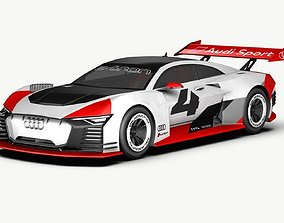 3D model vision 2018 Audi e-tron Vision GT