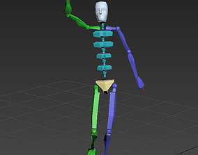 3D yellow red card 47-7in1 motion capture
