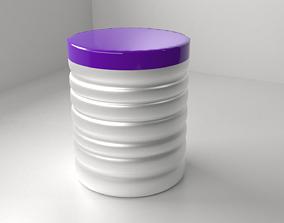 Purple Milk Tin 3D model