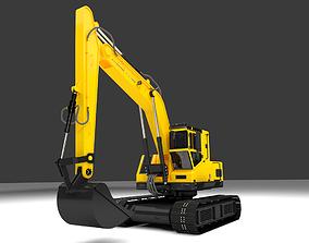 3D model Excavator 001