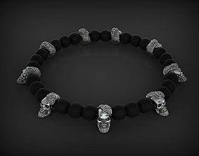 Bead Skull 01 2 skull 3D printable model