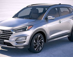 Hyundai Tucson 2018 3D model