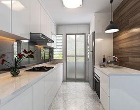 Kitchen kitchen-design 3D