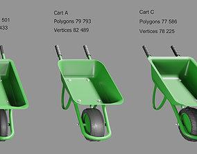 wheelbarrow work 3D model