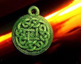Tinne - Celtic Knot Charm 3D printable model