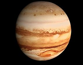 animated Animated HD Jupiter Model