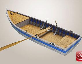 Boat A 3D model