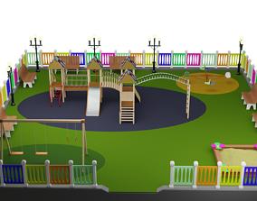 3D Playground Swing