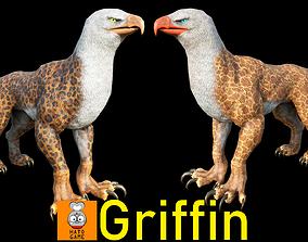 3D model Monster-- Griffin --