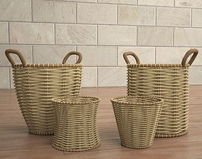 3D model old basket