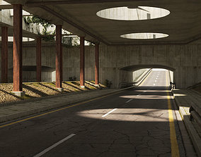 Tunnel 3D vray