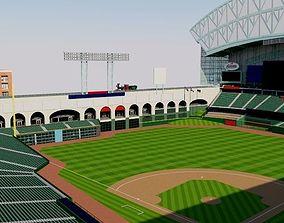 3D Minute Maid Park - Houston Astros stadium