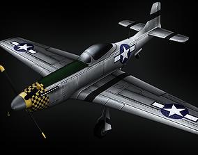 P-51 Mustang 3D asset