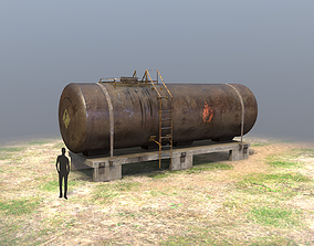 FuelTank 01 3D model