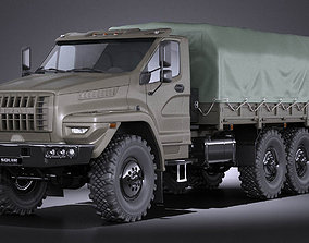 GAZ Ural Next 2015 Military truck 3D