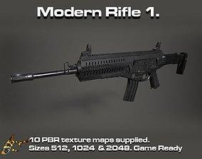 3D model Modern Rifle 1
