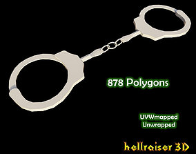 Handcuffs 3D model realtime various