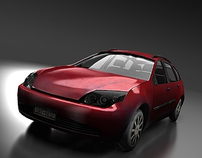 3D model Station Wagon