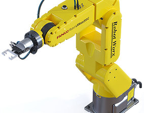 Fanuc Robotic Arm Manipulator 3D