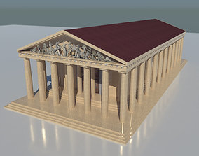3D asset The Parthenon