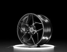Brixton Forged PF5 ULTRASPORT PLUS Car wheel 3D model