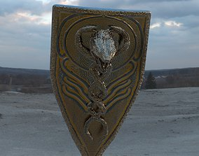 Snake legendary Shield 3D model