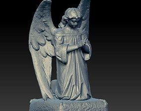 3D model praying angel statue